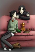 Sweet Dreams Mr. Potter by Yuki-Almasy