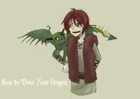 HTTYD: Terrible Terror by goldenflames66