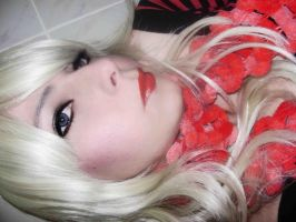 Blonde wig by LucyIeech