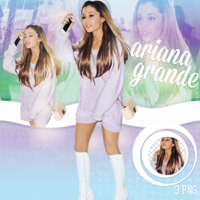 PNG Pack(278) Ariana Grande by BeautyForeverr