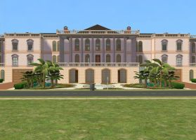 Sims 2 Mansion by RamboRocky