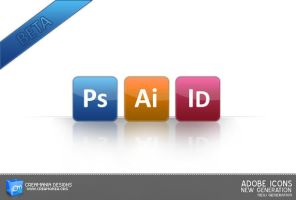 Adobe Icons New Generation by Creamania