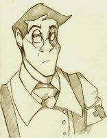 Medic Sketch by NillaKiwi