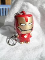 Iron Man Keychain by PauAndLoma