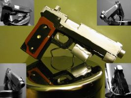 Project RE 9mm Handgun pt.2 by ChaosPhoto