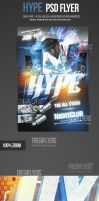 Hype DJ Music Flyer Template by ImperialFlyers