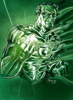 Green Lantern light by acir