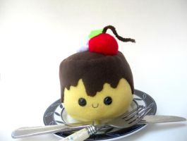 Pudding Plushie for AFest by Love-Who