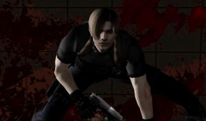 Leon S. Kennedy by Ada-hime
