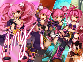 Amy - Grand Chase by Sr-Fadel