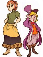 Harvest Moon- Natalie, Pierre by Busterella