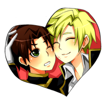 Teito and Mikage by misunderstoodpotato