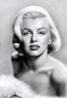 Marilyn Monroe by MLS-art