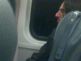 Snape on a train by jestermelville