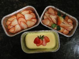 Japanese Cheesecakes by Corselia