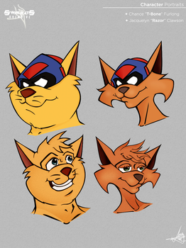 Swat Kats portrait by AngStrikke24
