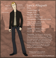 Lance Allegretti Official Reference by NuclearLoop