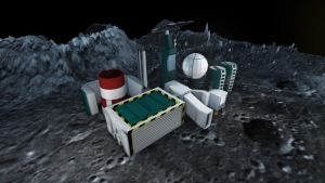 Moonbase Render 1 by Peskywaabbit