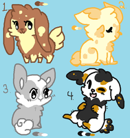 .:Bunny Adopts:. DRAW TO ADOPT (OPEN) by CollieGamerPro