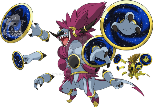 720 - Hoopa (Unbound Form) by Tails19950