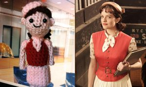 Amigurumi Mad Men: Peggy by smapte