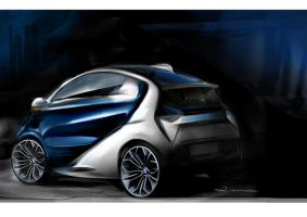 Final design BMW ISetta2 by Qvaka