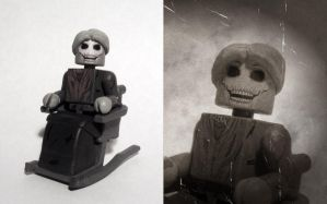 Mother Bates (Psycho) Custom Minimate by luke314pi