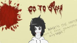 Jeff the killer, omg *v* by DiamondArkAngel