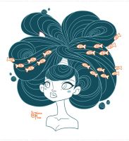 Waves of Hair by MeoMai