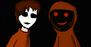 Masky and Hoody by Anonymous--Art