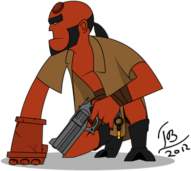 Hellboy by Asmodeus01