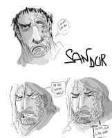 sandor's face by Menthes
