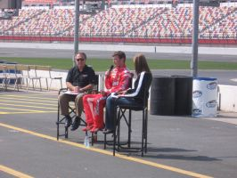 Kasey answers questions by nascarstones