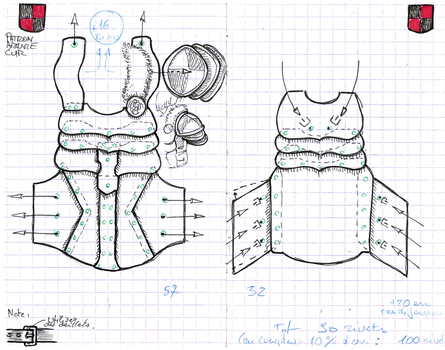 Leather Armor pattern by Astanael