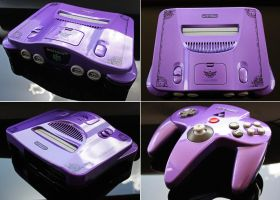 Custom Majora's Mask themed Nintendo 64 by Zoki64