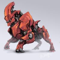 Mech Steed by Pythosblaze