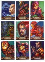 Iron Man Cards by riq