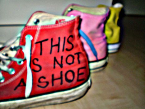 This is not a shoe by OffTheLip