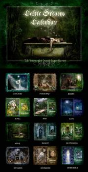 CELTIC DREAMS CALENDAR 2010 by ArwensGrace