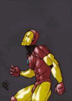 iron man color by fidodido69