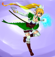 Sword Art Online - Leafa by FiercestBard