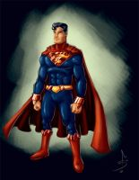 Superman Redesign by fdiskart