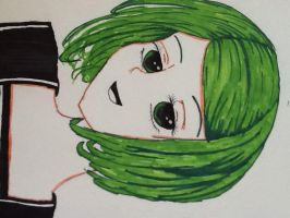 Green Hair by Artlover916