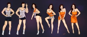 Orange for the New You - TG Transformation by Grumpy-TG