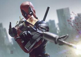 Deadpool by panelgutter