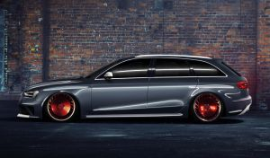 Audi RS4 Avant by TOPvt
