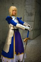 The Living Incarnation of Saber by gamefan23