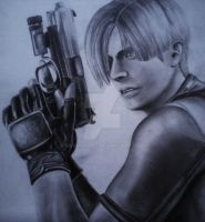 Leon S Kennedy by Ravennoire