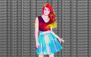 Background Lea Michele by FriEvans