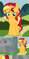 Sunset Shimmer's Potential Backstory by Beavernator